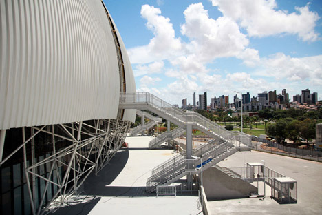 Populous completes Arena das Dunas for FIFA World Cup 2014
