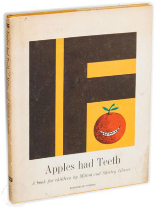 'If Apples Had Teeth,' the first children's book by Milton and Shirley Glaser (image via ebay.co.uk)