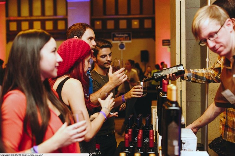 For the ultimate wino: Taste hundreds of new wines from around the world at Wine Riot in Chelsea from April 4-5