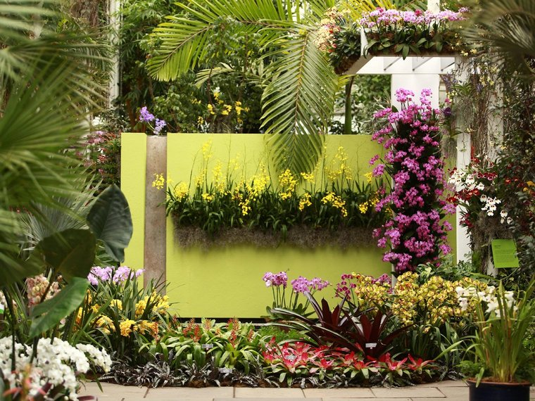 Smell the orchids at the New York Botanical Garden's Orchid Show, which runs through April 21.