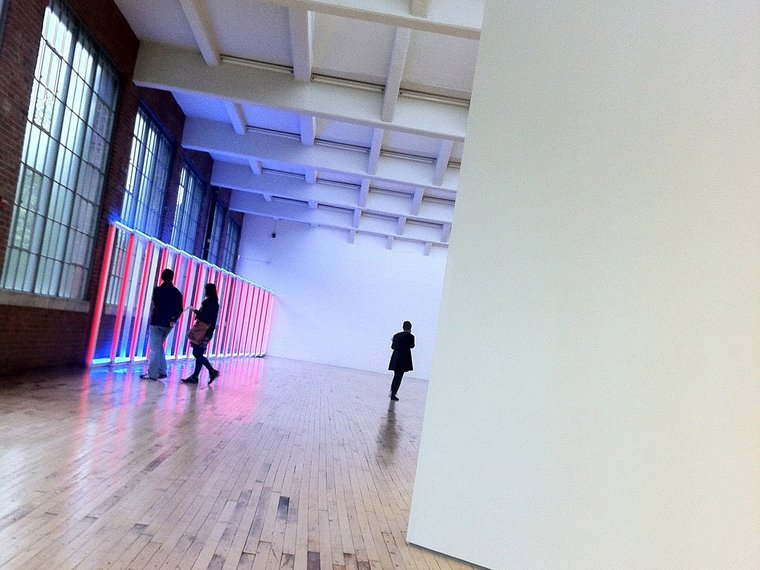 Get out of the city and see some art at Dia: Beacon, a fantastic modern art museum just an hour's train ride from the city.
