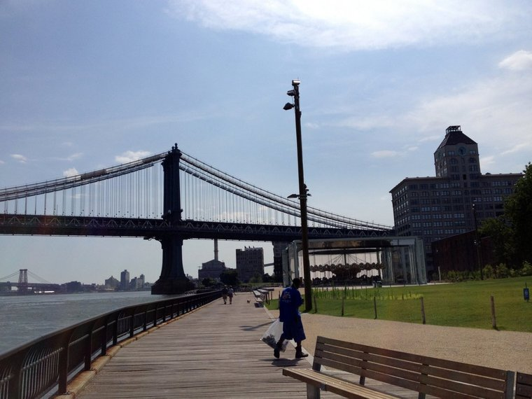 Check out Pier 2, a new part of Brooklyn Bridge Park, set to open sometime this spring.