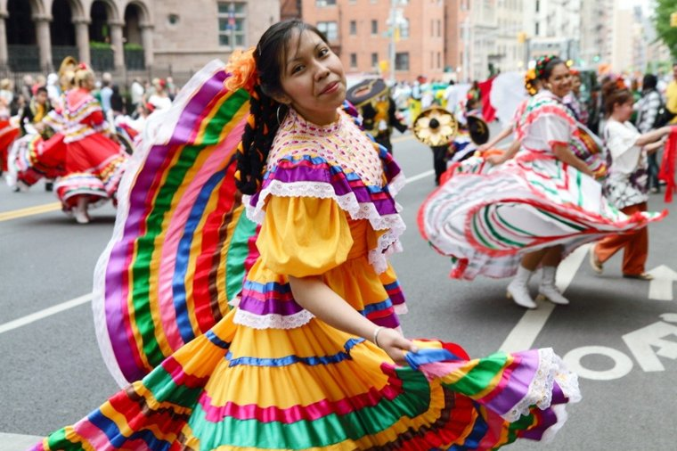 Celebrate Cinco de Mayo by participating in the East Village pub crawl, watching the parade on the Upper West Side, or eating at a Mexican restaurant.