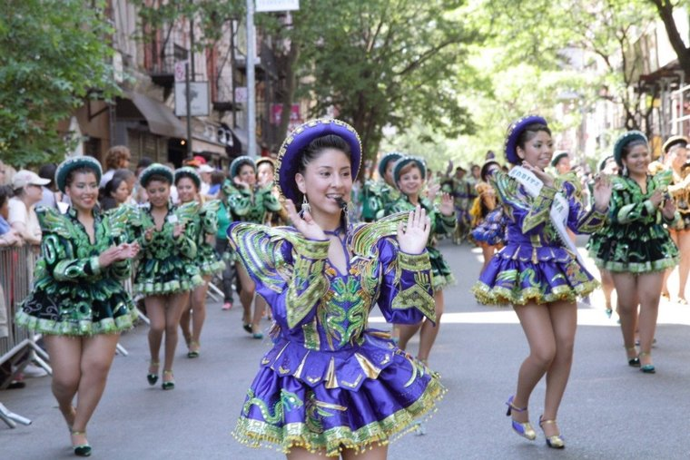 Get your groove on during the Dance Parade and DanceFest at Tompkins Square Park in the East Village on May 17.