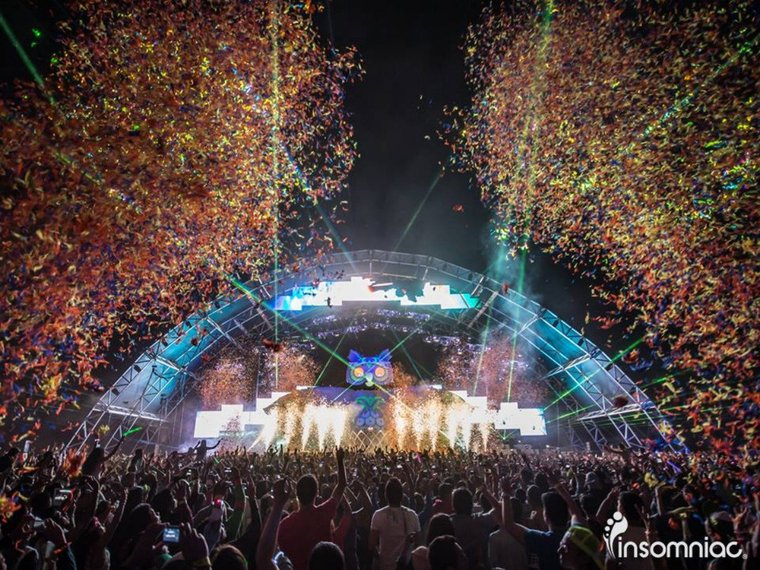 Wear your brightest neon and jam out at the Electric Daisy Carnival, May 24 and 25.