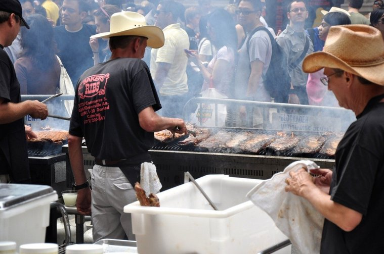 Chow down at the Big Apple BBQ Block Party in Madison Square Park from June 7-8.