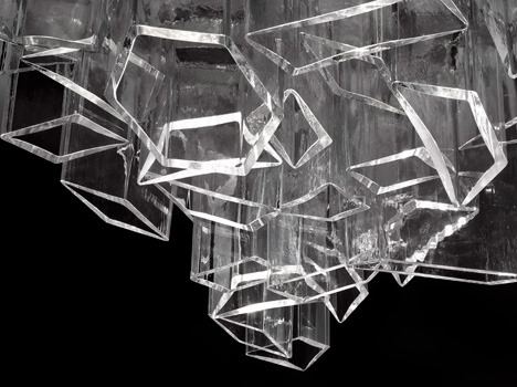 Ice by Daniel Libeskind for Lasvit