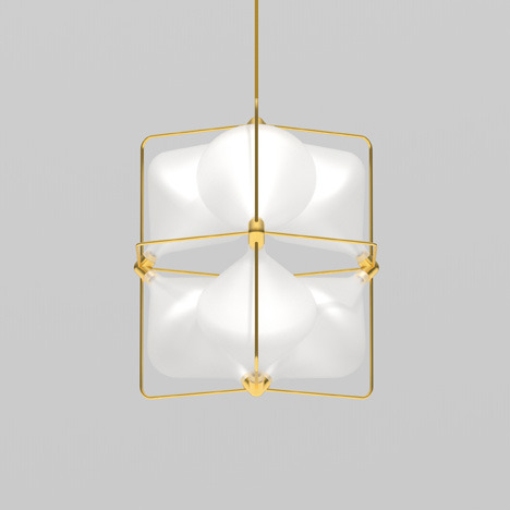 Clover Pendant by Michael Young for Lasvit