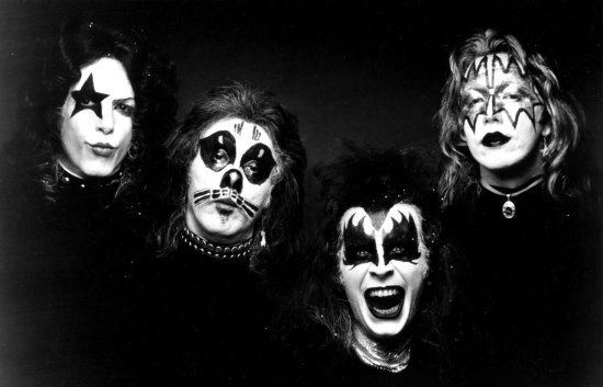Kiss Album Cover Portrait Session